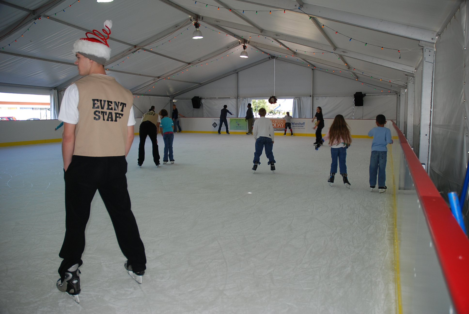 ice rink galleries rent portable ice skating rinks
